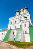 The Trinity Cathedral located since 1589 in Pskov Krom poster