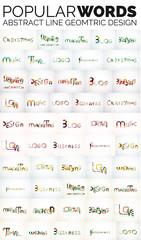 Mega collection of popular web keys