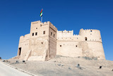 Obraz na płótnie Historic fort in Fujairah, United Arab Emirates