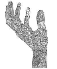 Artistic Hand