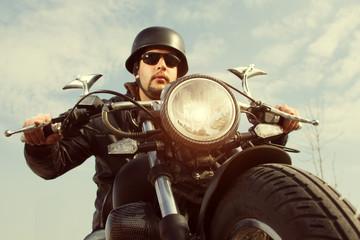 Retro Motorbiker