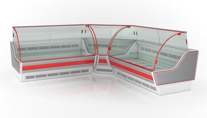 Refrigerator showcases