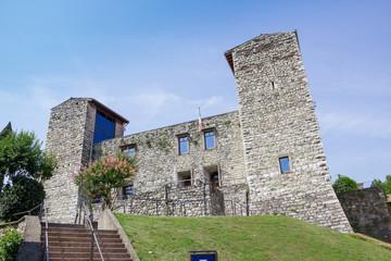 Iseo lake Oldofredi castle