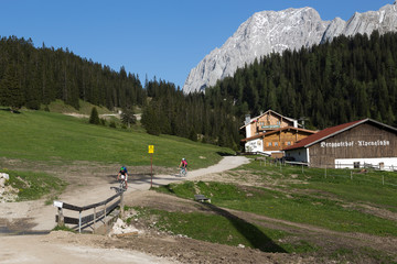 Mountainbiken Wetterstein