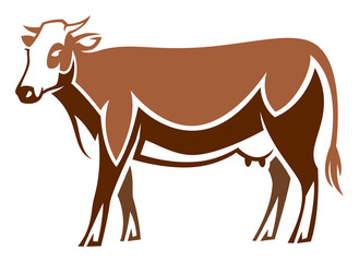 Stylized Cow - Abondance Cattle
