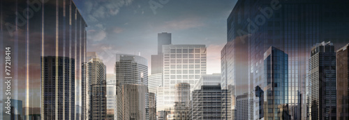 Abstract Business City Center - 77218414