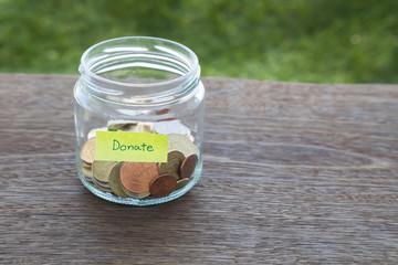 Donate money to charity
