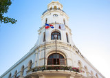 Architecture of old town in Santo Domingo