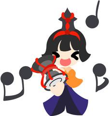 ひな祭り 〜五人囃子 小鼓〜