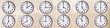 muro con orologi - 77227423