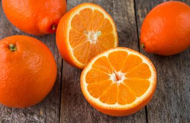 Sweet oranges fruits( mineola)