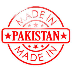 Made in Pakistan red seal