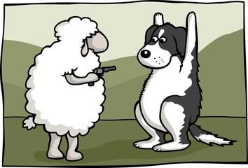 sheep gangster