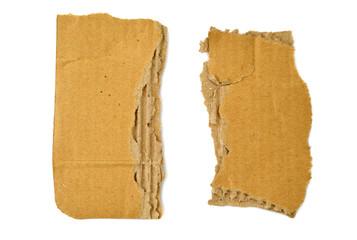Pappe zweigeteilt