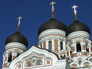 Catedral de Alejandro Nevski en Tallin, Estonia