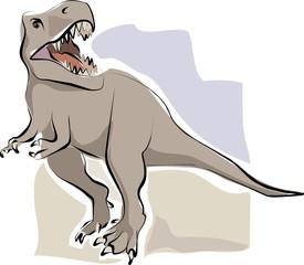 sketchy t-rex
