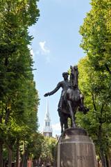 Boston Paul Revere Statue