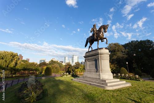 Boston George Washington Statue - 77235419