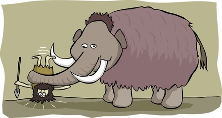 when mammoth hunts go bad