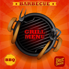 GRILL MENU BBQ best choice