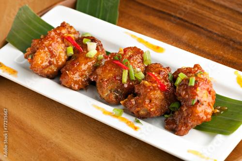 Hot Buffalo Chicken Wings - 77235667
