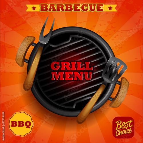 GRILL MENU BBQ best choice - 77235684