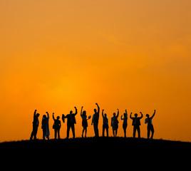 Diverse Diversity Ethnic Ethnicity Togetherness Team Concept