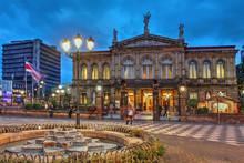 "Постер, картина, фотообои ""National Theatre of Costa Rica in San Jose"""