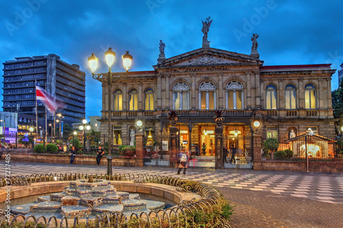 National Theatre of Costa Rica in San Jose - 77237485