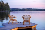 Two Chairs on dock
