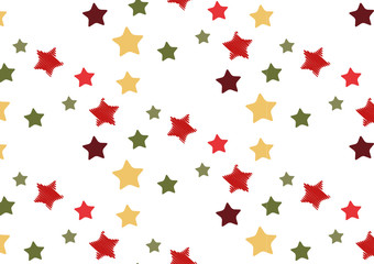 Sterne Muster nahtlos