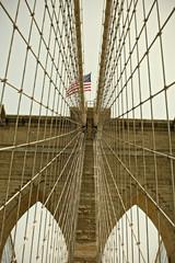 Brooklyn Bridge, New York City famous Landmar