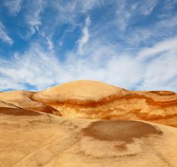 Landscape of beautiful desert nature in Utah