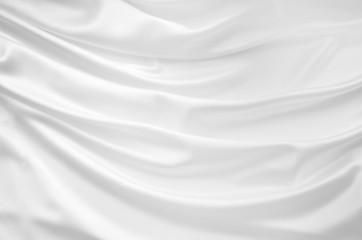 Smooth elegant white silk background