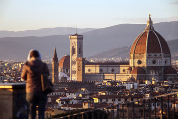 Toscana,Firenze,il Duomo,