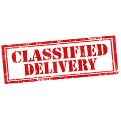 Classified Delivery-stamp