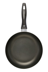 Black Frying Pan (clipping path)