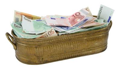 Lot of Euro money