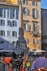 Roma, Piazza della Rotonda - Pantheon