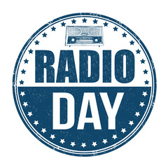Radio Day stamp