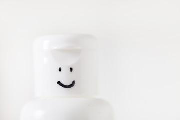 smiling bottle