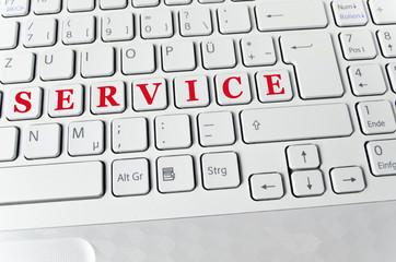 Helle Tastatur: Service