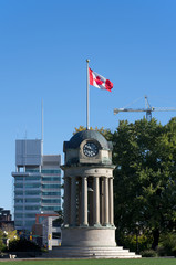 Clock Tower in Kitchener, Canada