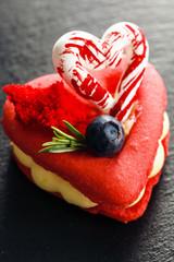 Saint-Valentin macaroon