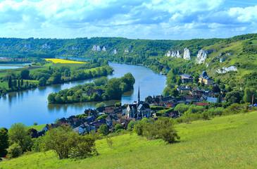 Bords de Seine, les Andelys, Normandie