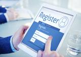 Register Membership Application Registration Join Office Concept