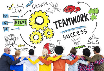 Teamwork Team Together Collaboration Diversity People Concept