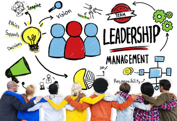 Diversity Casual People Management Leadership Support Concept