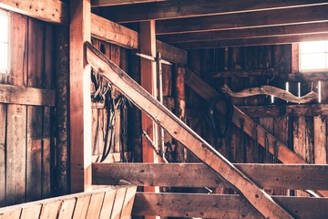 Rustic Barn Interior