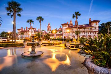 St. Augustine, Florida, USA at Alcazar Courtyard